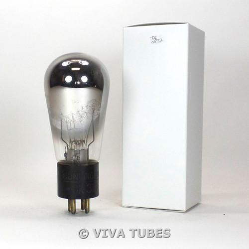 TESTS LOW/BAD RCA Cunningham USA CX-310 [Type 10] Carbonized  Globe Vacuum Tube
