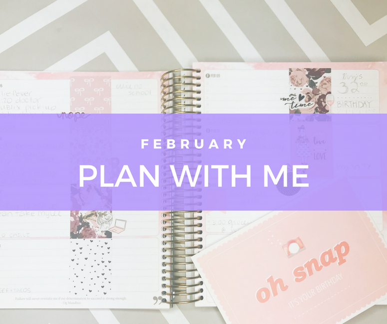 February - Plan with Me