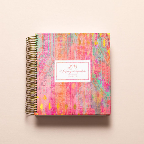 2019 weekly keeping it together planner - classic cover