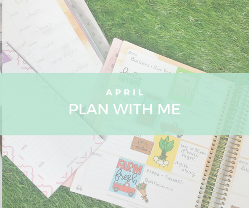 April Plan with Me   My Current Grocery Routine