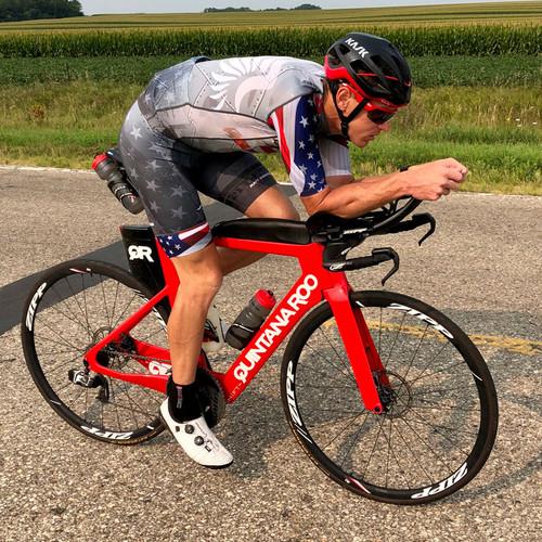 Matt Hanson Merica Pro Cycling Jersey - RED