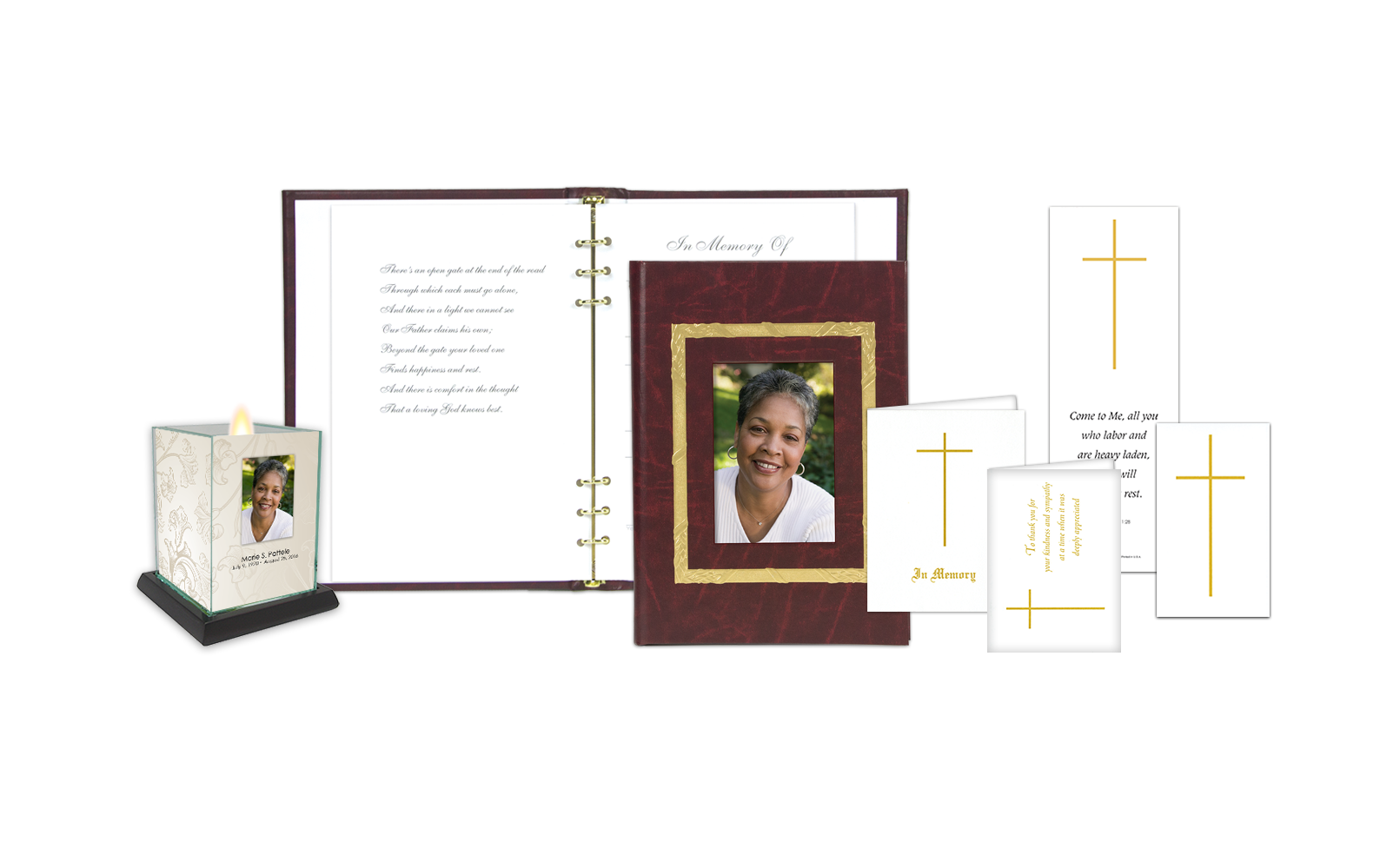 ROL Picture Frame Gold Stamped Border Maroon Series 222MAR IC