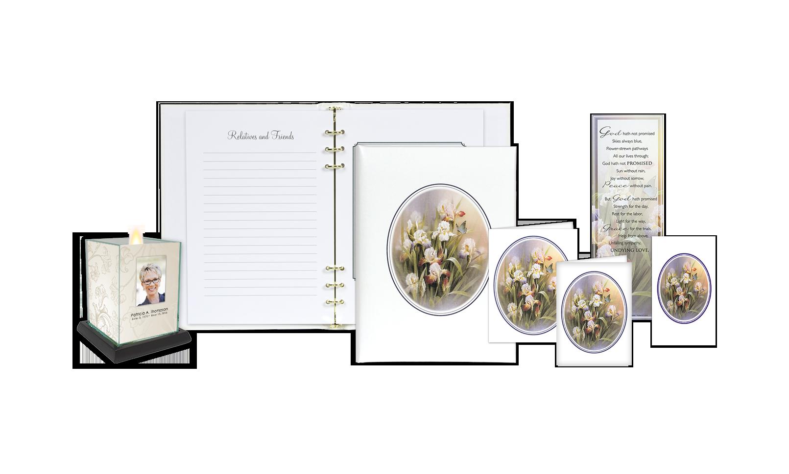 ROL Iris & Butterfly White Series 238 FS