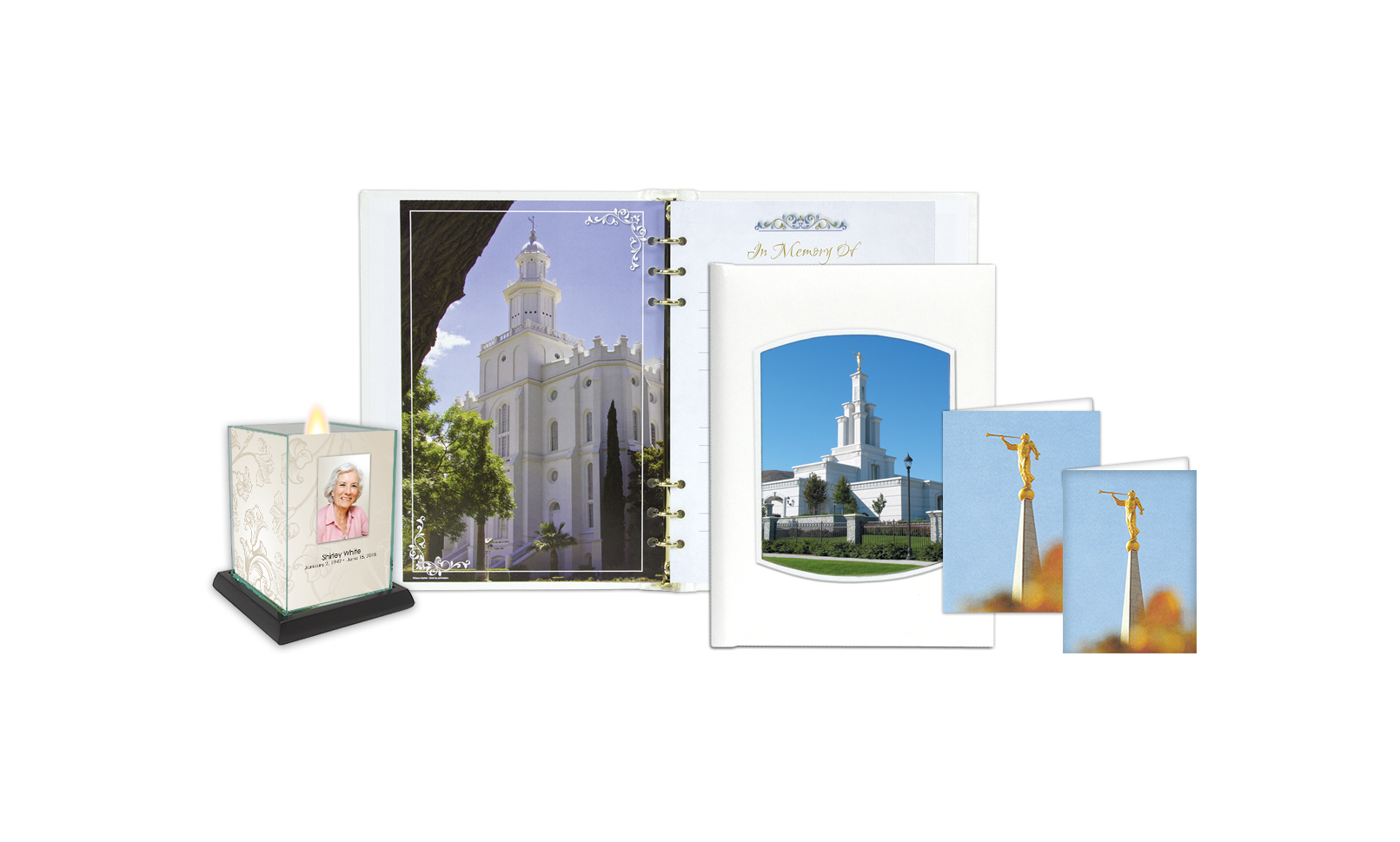 ROL Latter Day Saints Columbia River Temple Series 303 LDS