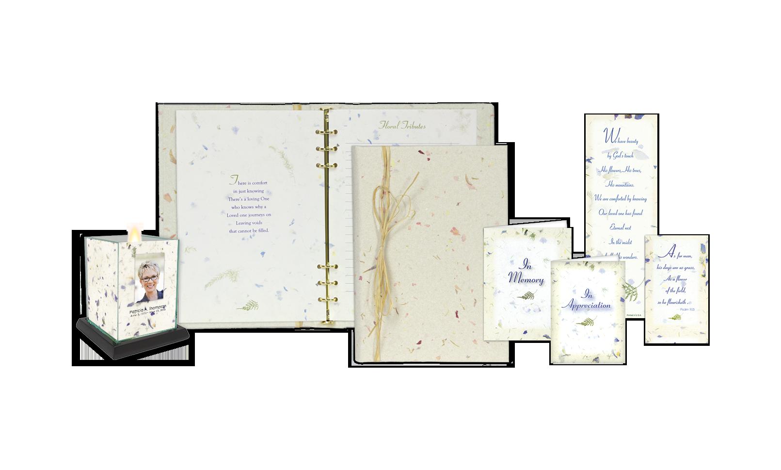 ROL Handmade Natural Floral Paper Series 317 HM