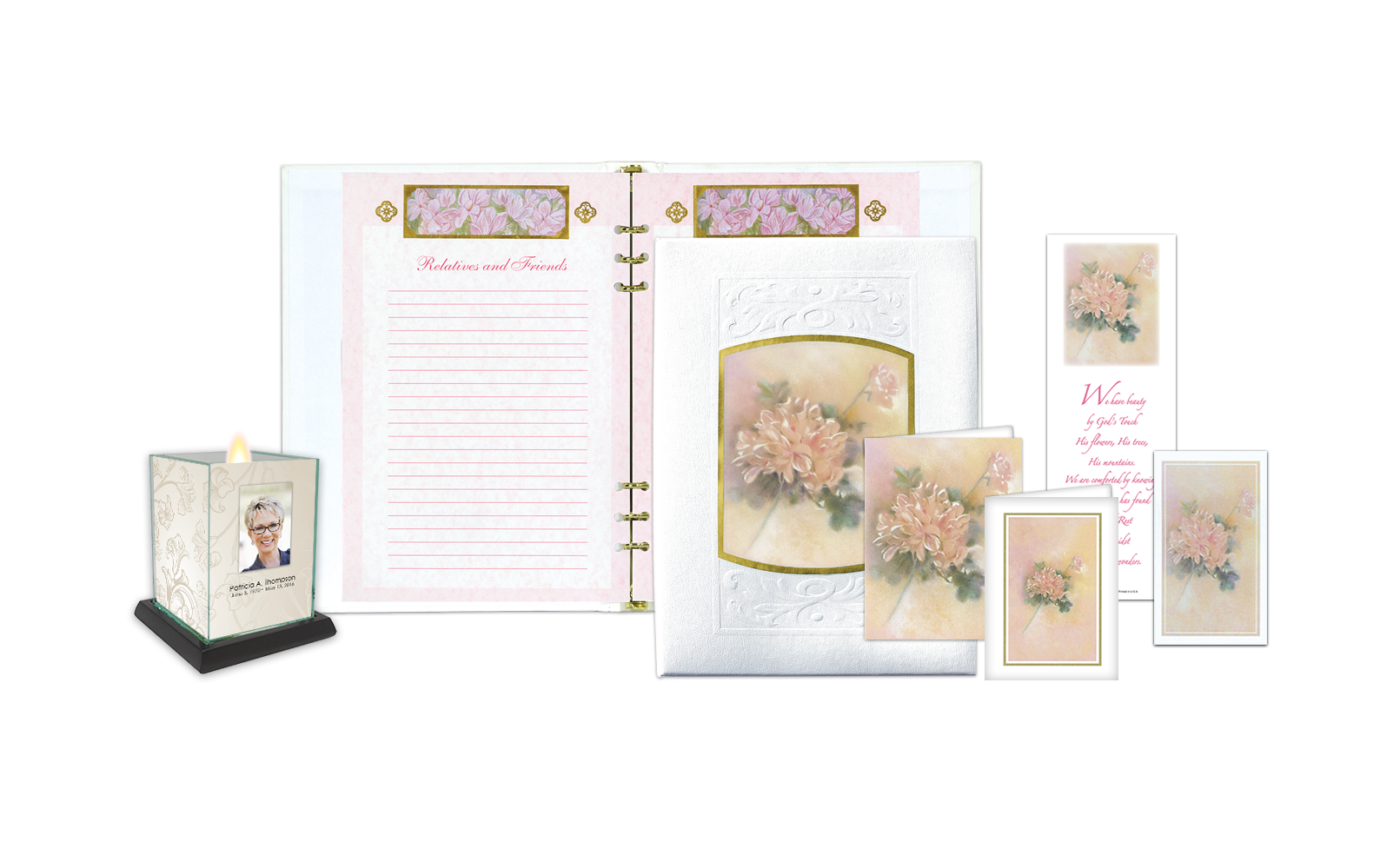 ROL Leather Floral Series 364WH