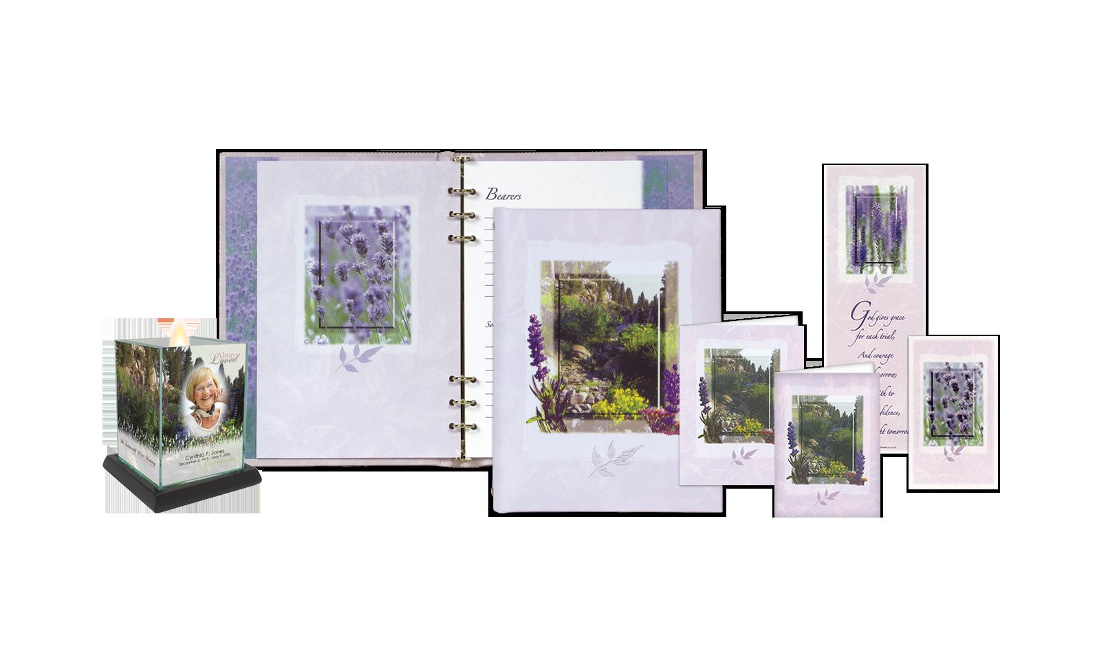 ROL Lavender Wildflowers Series 369 LF