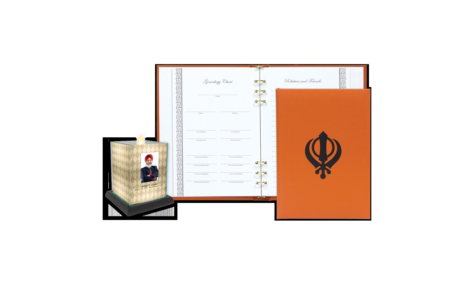 ROL Sikhism Orange Series 445 SIK