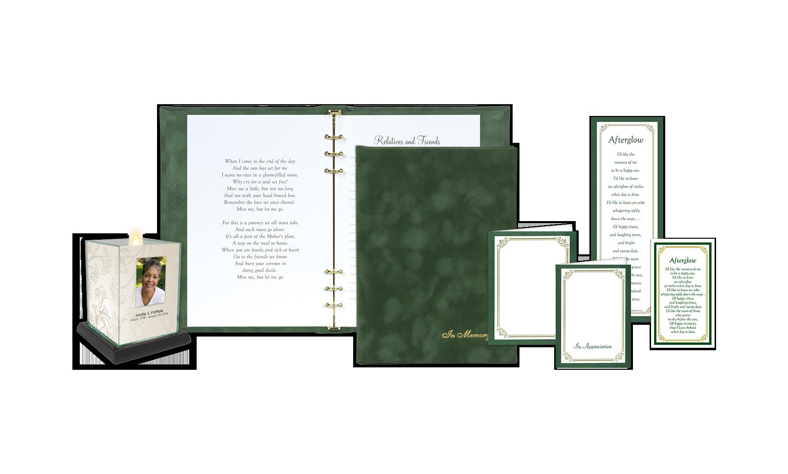 ROL In Memory Suedelux Green Series 507 FS