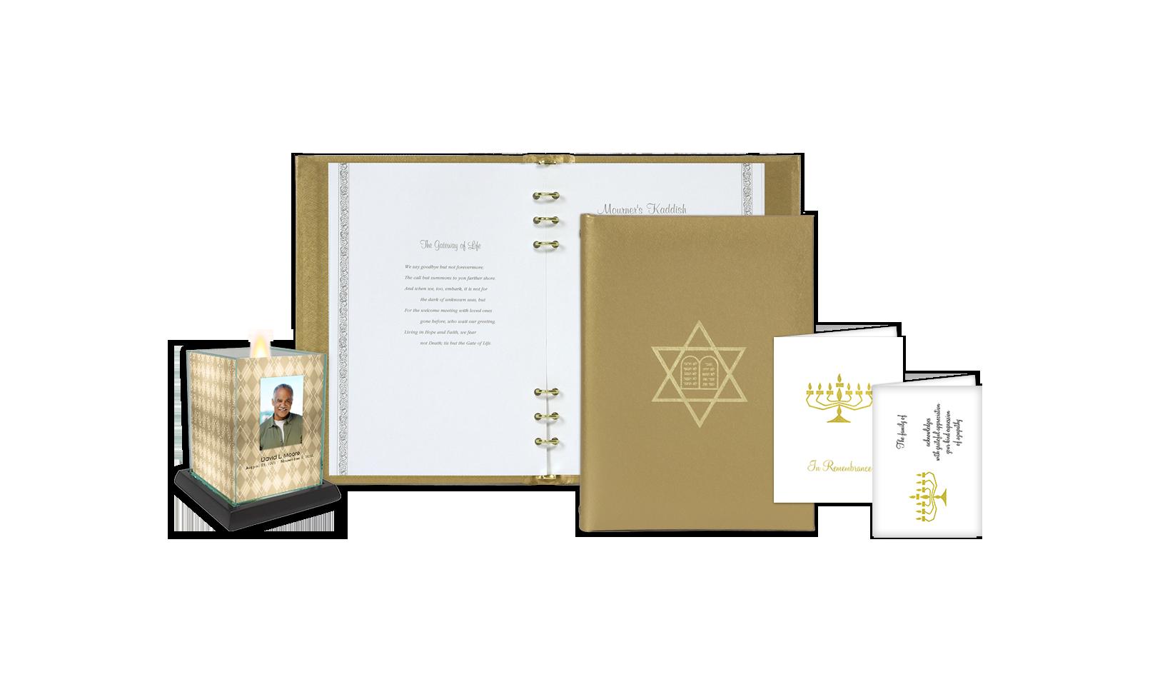 ROL Foil Stamped Jewish Star of David Gold Series 68 JW