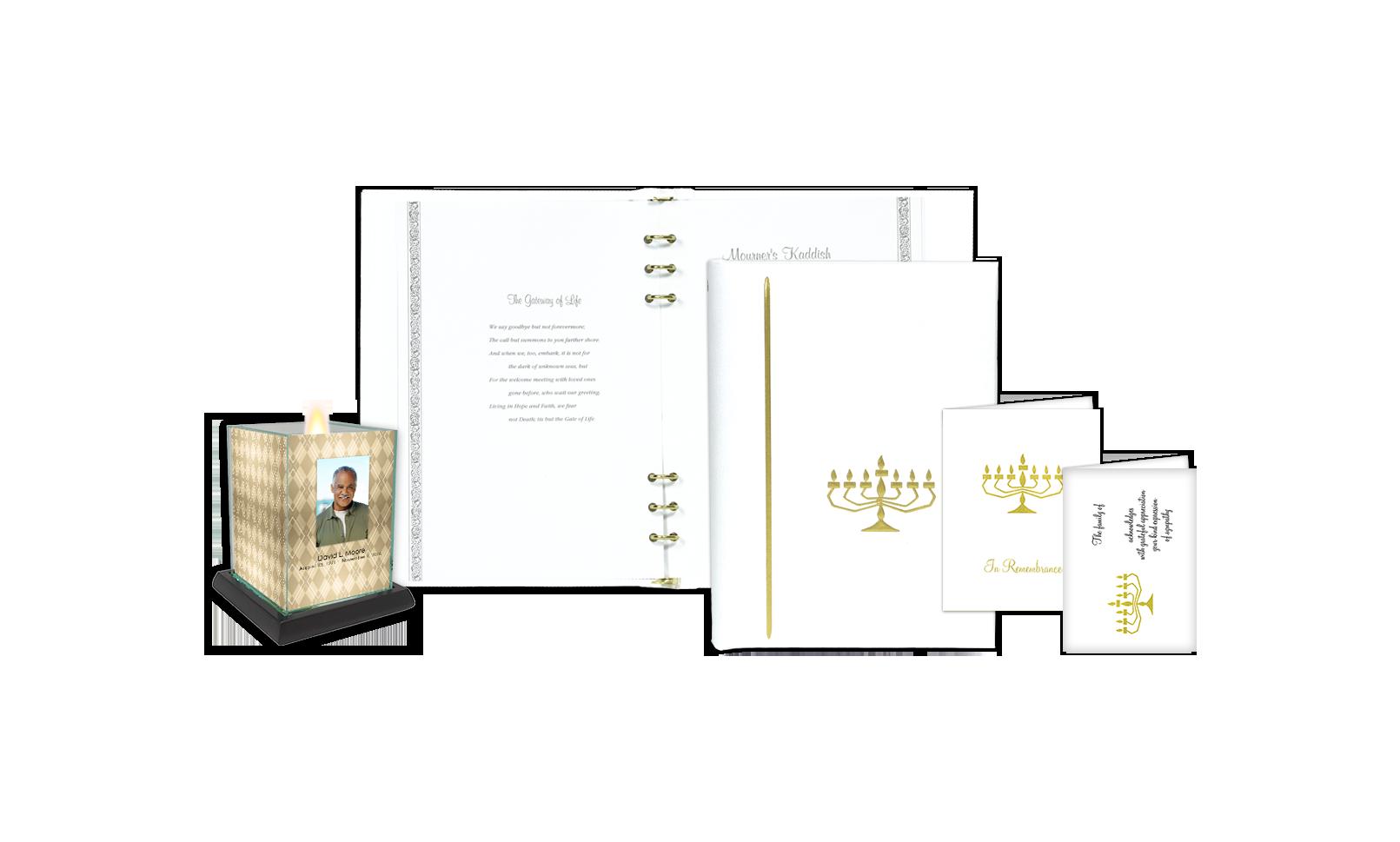 ROL Jewish Menorah White Series 70W JW
