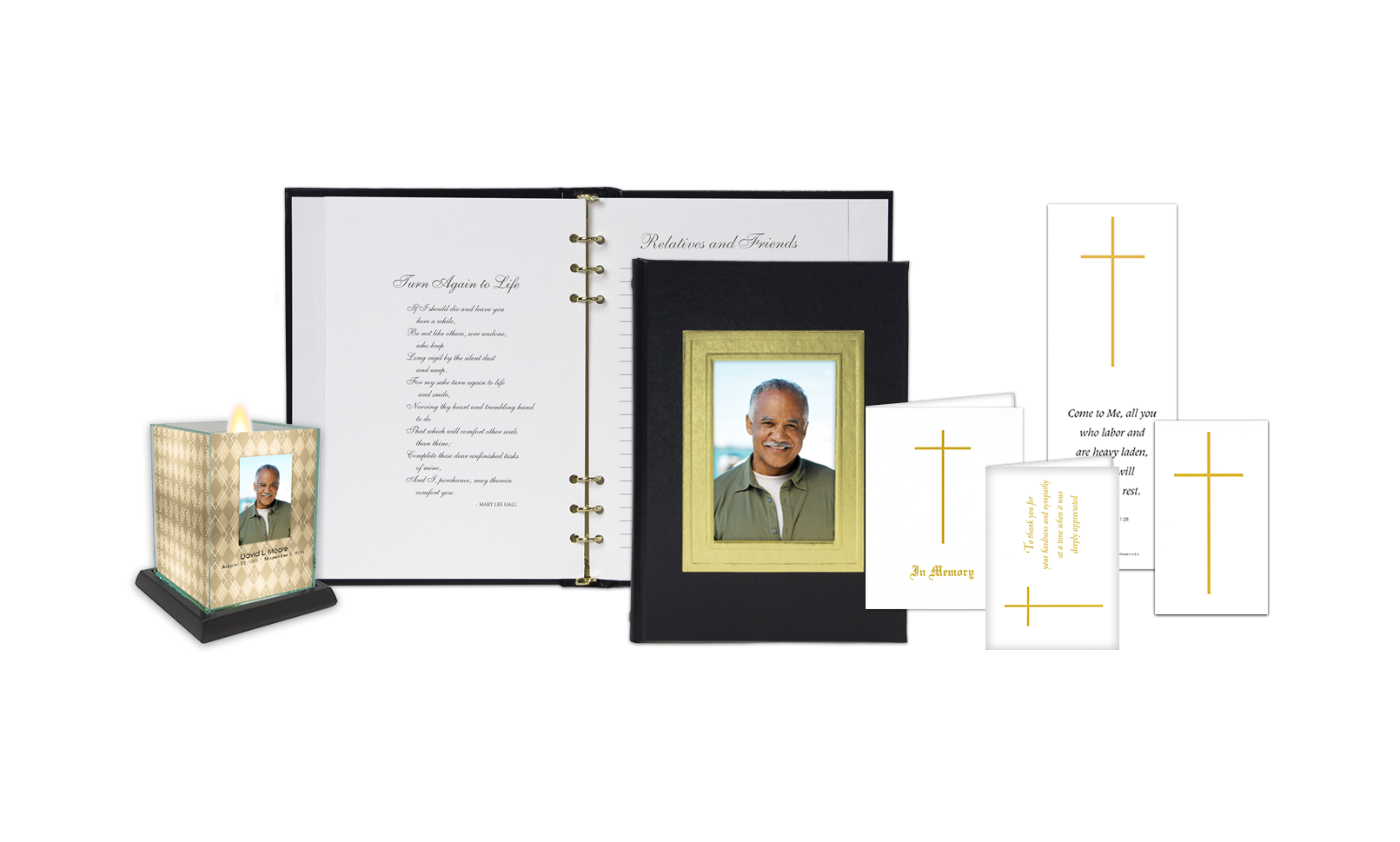 ROL Picture Frame Black Embossed Series 722BLK IC