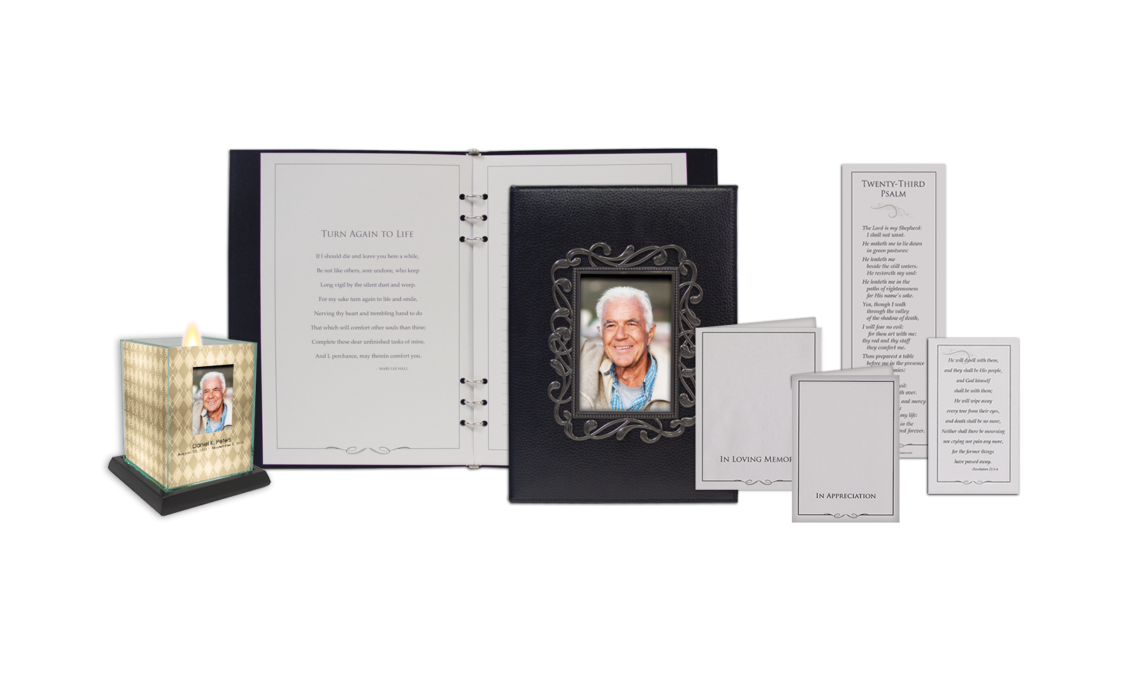 ROL Deluxe Picture Frame Leather Series 822 GRYL