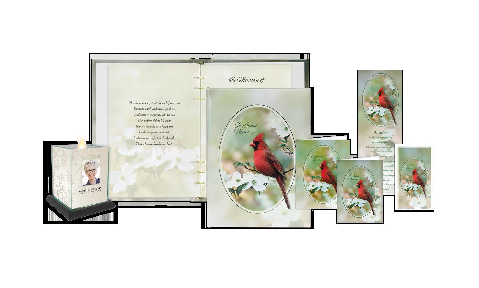 Peaceful Cardinal Series