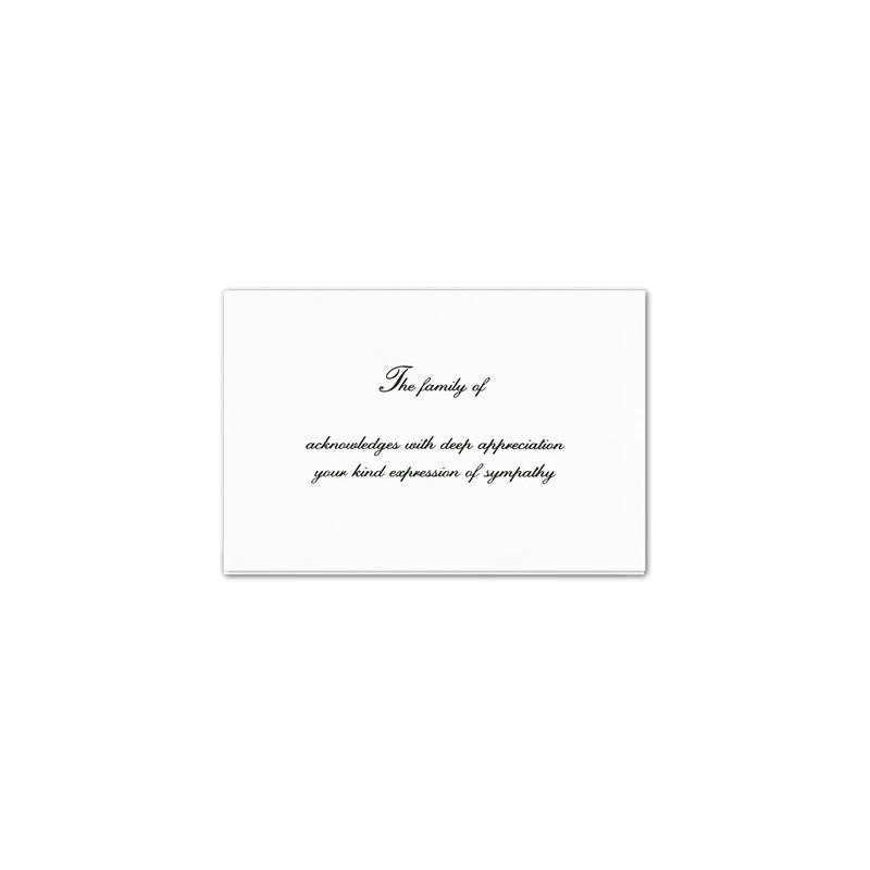 Acknowledgement Card 1