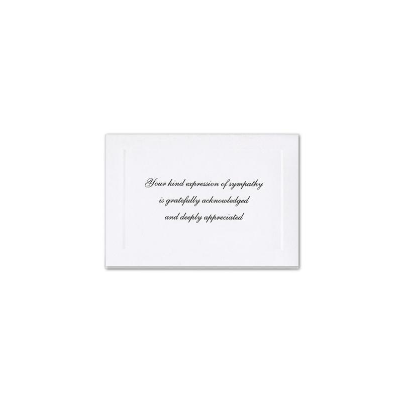 Acknowledgement Card 152