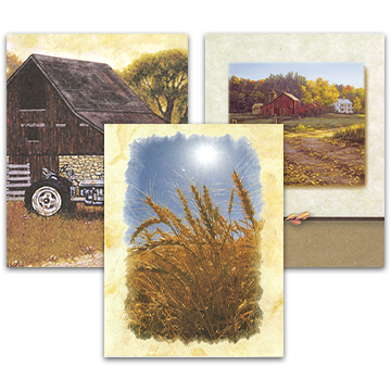 Agricultural Acknowledgement Cards