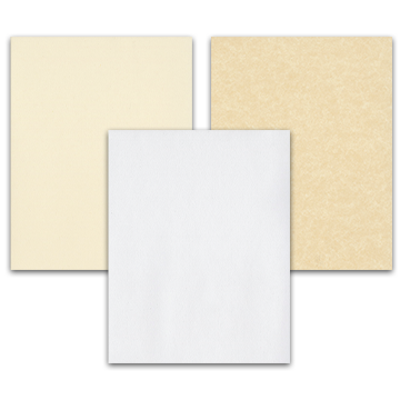 Blank Paper Acknowledgement Cards