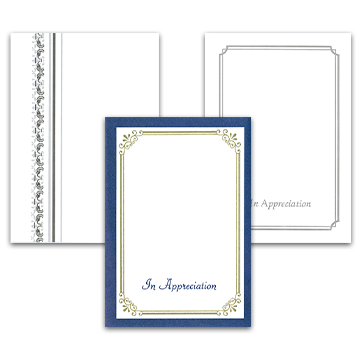 Border Acknowledgement Cards