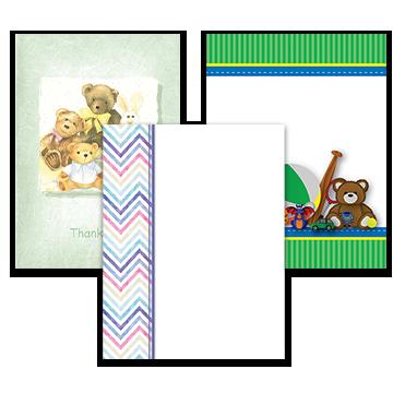 Children Acknowledgement Cards