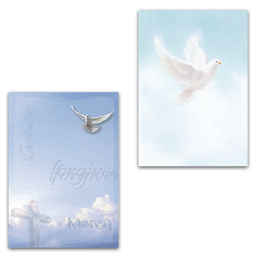 Dove Acknowledgement Cards
