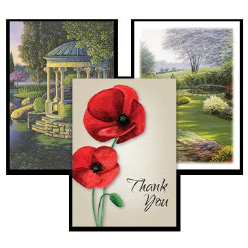 Garden & Floral Acknowledgement Cards