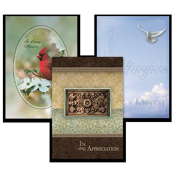 Religious Acknowledgement Cards
