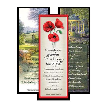 Garden & Floral Bookmarks