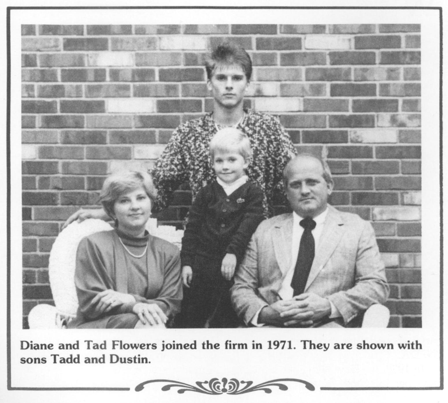 Diane Tadd Dustin Flowers