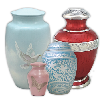 Free Shipping Urns