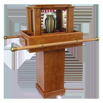 Hardwood Urn Carriers
