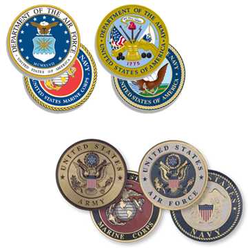 Military Emblems and Decals