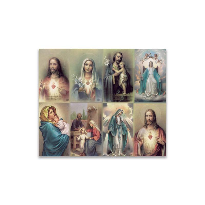 Prayer Card Religious 8 Up