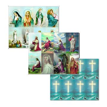 Bonella Line Prayer Cards