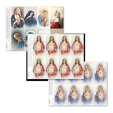 Cromo Line Prayer Cards