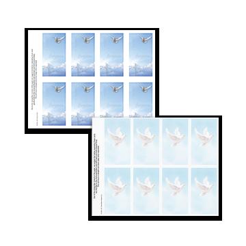 Dove Prayer Cards