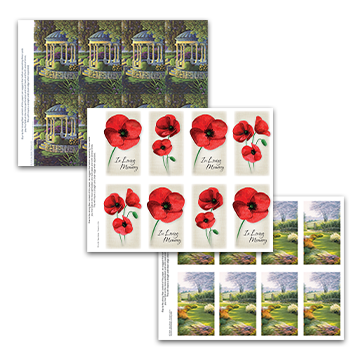 Garden & Floral Prayer Cards