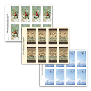 Religious Prayer Cards