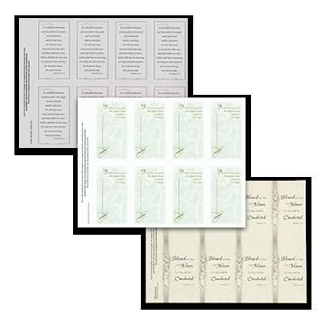 Traditional Prayer Cards