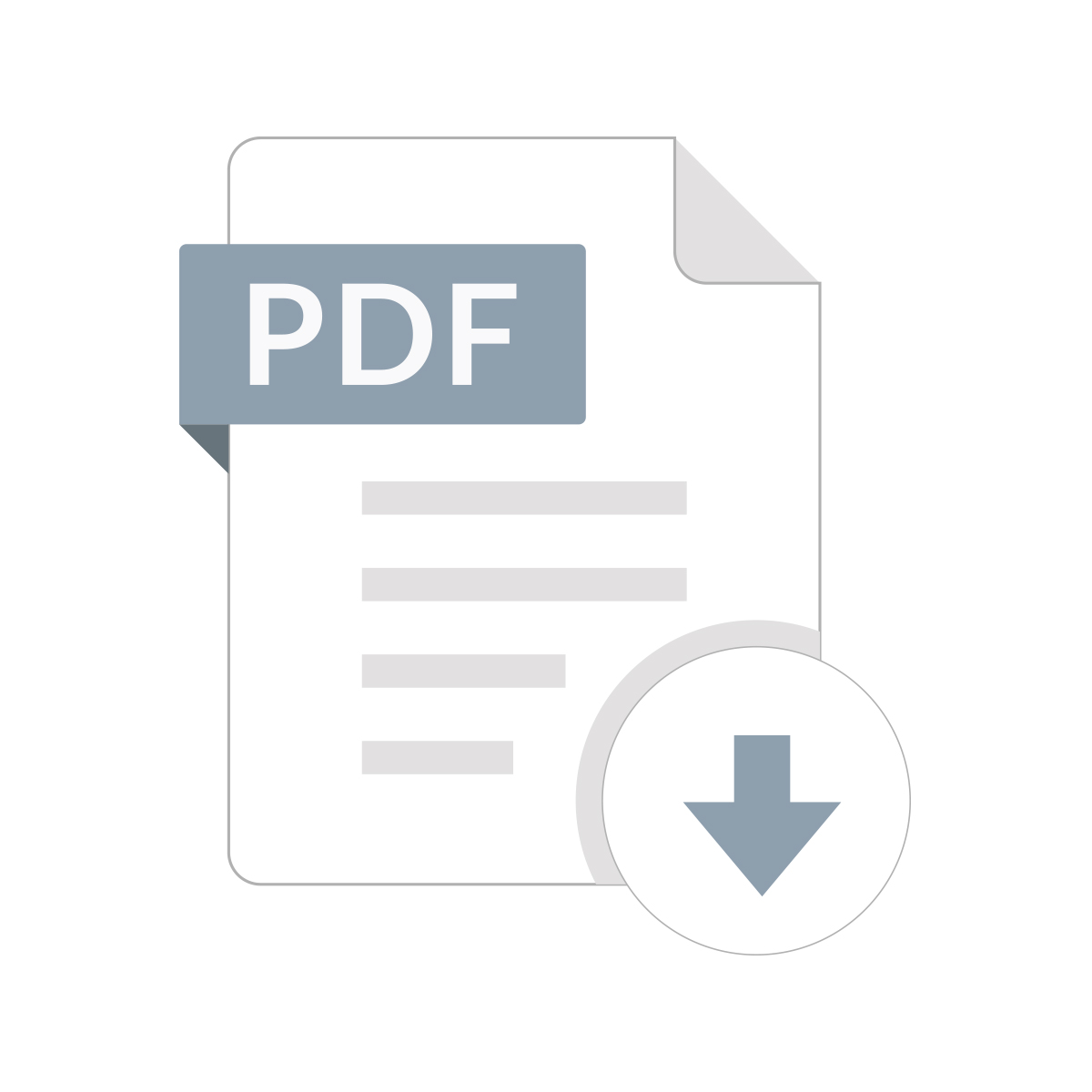 PDF Software Tutorials Icon