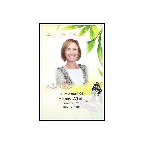 PMD White Border Prayer Cards