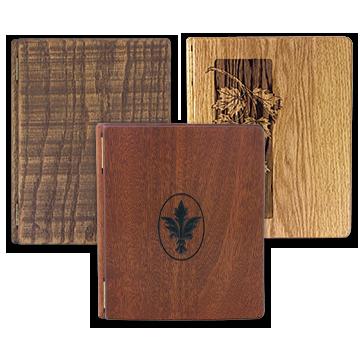 Wood Register Books