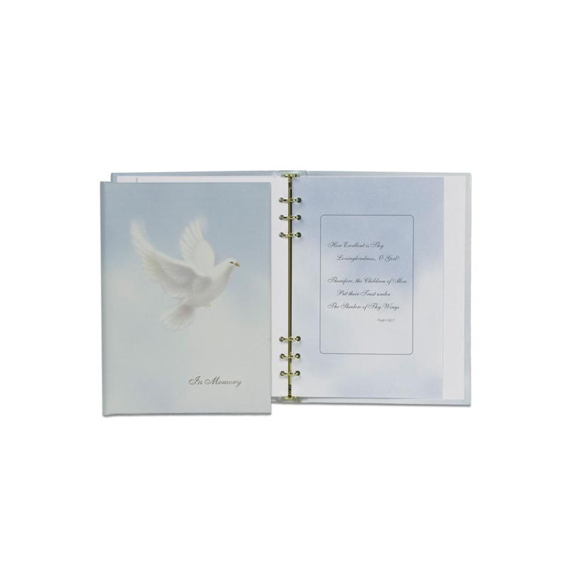 Dove Register Book with Dove Interior