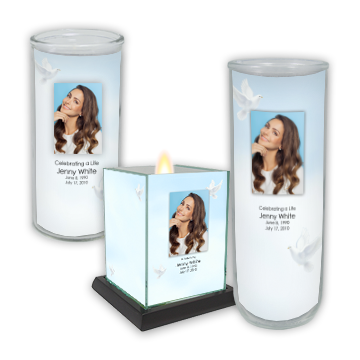 Reflections of Life Memorial Candles