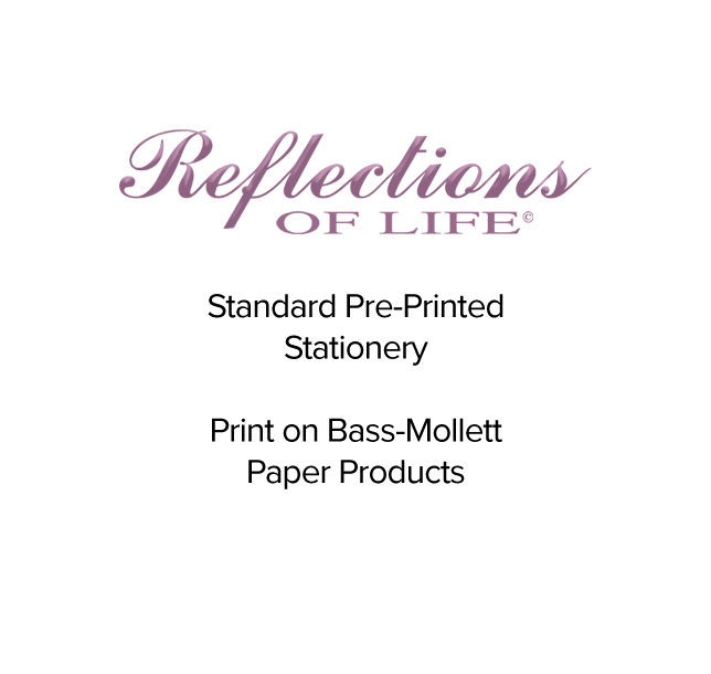 Reflections of Life Printing Help