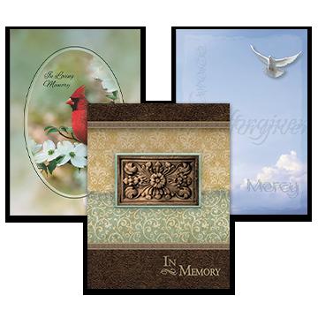 Religious Service Folders