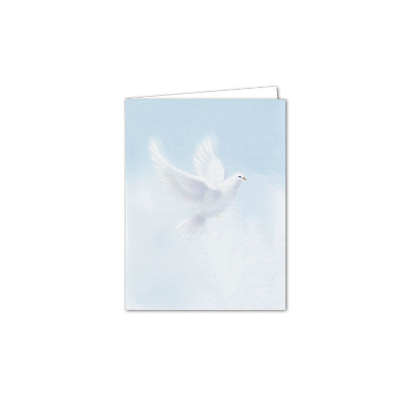 Service Record Peaceful Dove Large Blank Inside