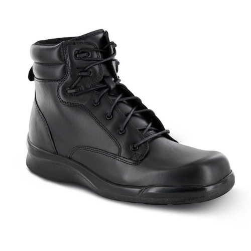 Biomechanical Lace-Up Work Boot - Black