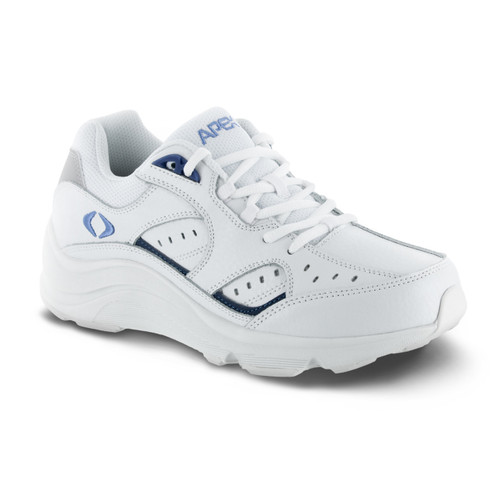 Women's Lace Walker - V-Last - White/Periwinkle