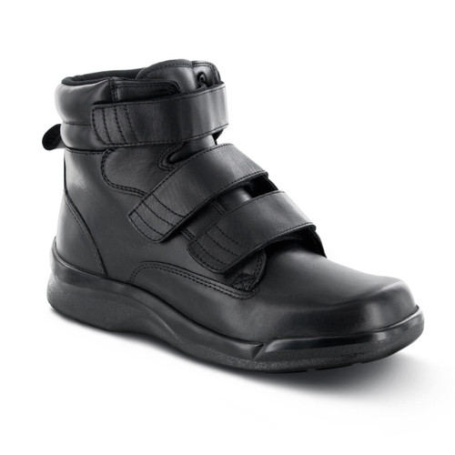 Biomechanical Triple-Strap Work Boot - Black